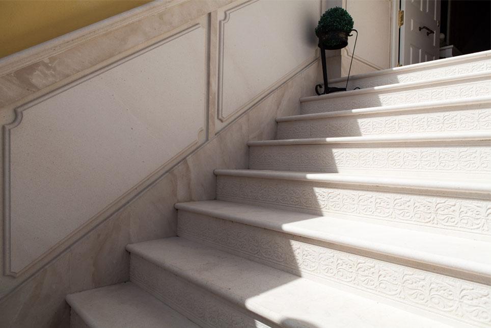 Zocalo para escalera m rmoles santo domingo - Marmol para escaleras ...