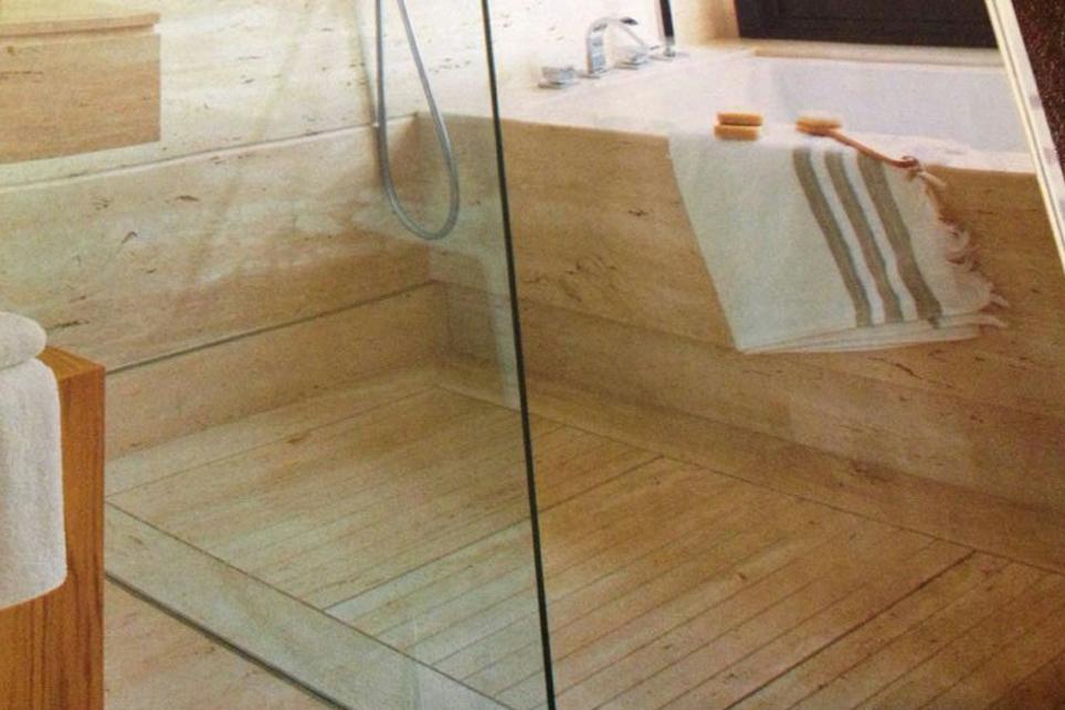 Plato de ducha en tarima m rmoles santo domingo - Platos de ducha de marmol ...