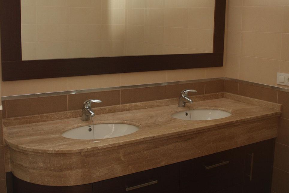 Lavabos bajo encimera m rmoles santo domingo - Baldas para bajo lavabo ...