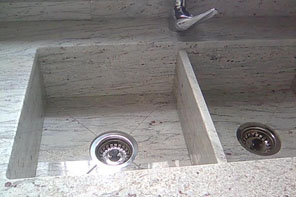 Fregadero de acero inoxidable encastrado bajo encimera for Fregaderos de exterior