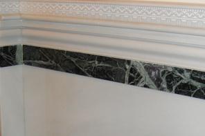Molduras cenefas y junquillos m rmoles santo domingo - Molduras de marmol ...